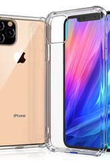 LEEU DESIGN Air Cushion Shockproof TPU Shell Cover for iPhone 11 Pro 5.8 inch (2019) - Clear