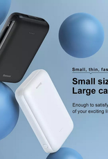 BASEUS Mini Ja Digital Display 10000mAh Power Bank PD Quick Charger - Black