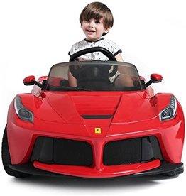 12V Ferrari LaFerrari Kids Electric Ride On Car with MP3 and Remote Control - Red