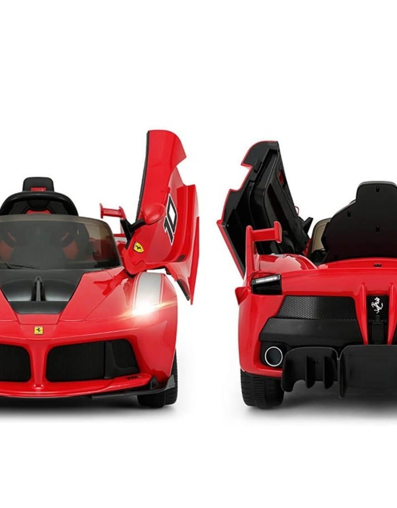 Rastar 12V Ferrari LaFerrari Kids Electric Ride On Car with MP3 and Remote Control - Red