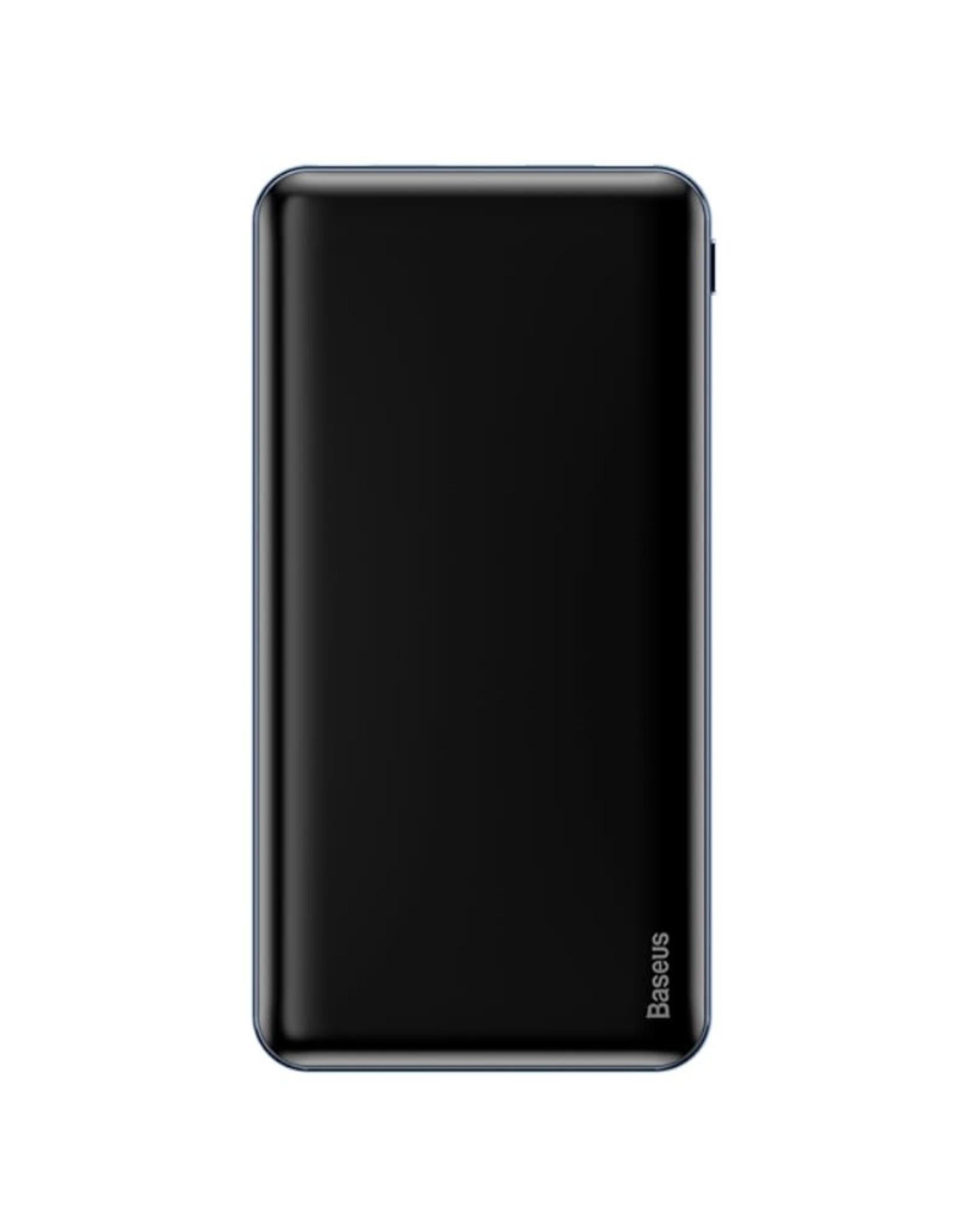 BASEUS M21 Simbo Smart 10000mAh PD Two-way 3A Fast Charging Power Bank - Black