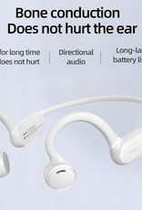 Joyroom Joyroom JR-X1 Subversion X Open Ear Wireless Headset (White)