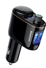 Baseus BASEUS Wireless Bluetooth Hands-free MP3 FM Transmitter Car Charger Car Kit for iPhone Samsung