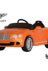 Bentley GTC 12v Orange Ride On Car (Remote Controlled) Orange