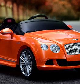 Bentley GTC 12v Orange Ride On Car (Remote Controlled) Orange