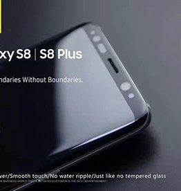 Blueo Samsung Galaxy S8 Plus Tempered Glass Screen Protector Black