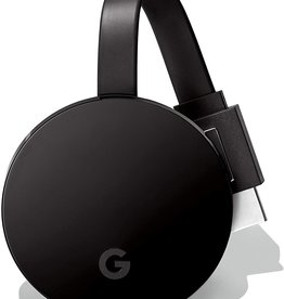 Google Google - Chromecast Ultra 4K Streaming Media Player - Black