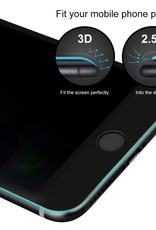 Baseus iPhone 7P, 8 Plus Black Border Privacy Baseus Tempered Glass Screen Protector