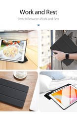 DUX DUCIS OSMO Series Tri-Fold Stand Leather Cover for iPad 10.2