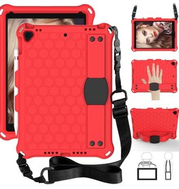 Honeycomb Texture Shoulder Strap iPad 10.2