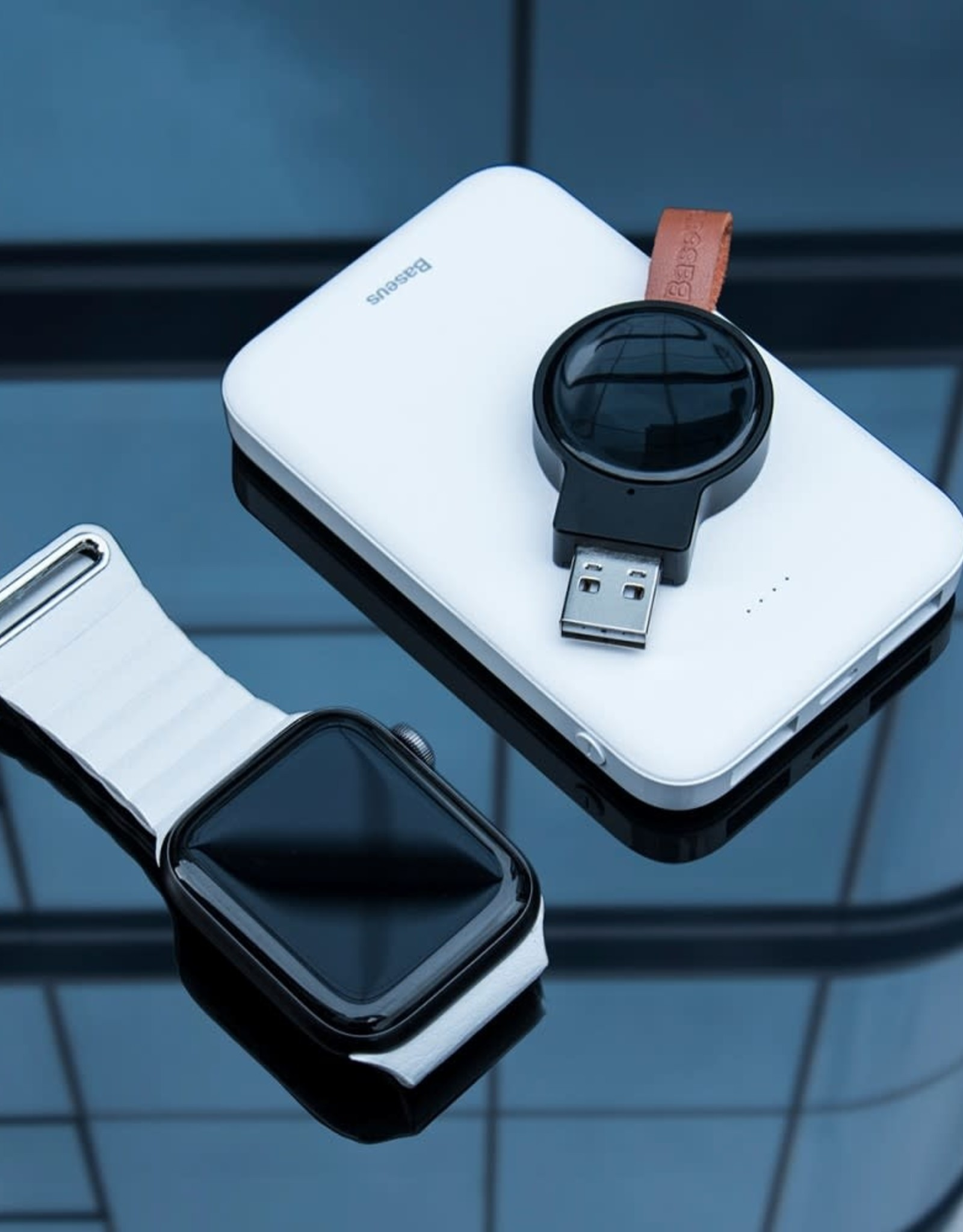 Baseus Baseus Portable Dotter Wireless Charger Black