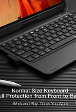 """11"""" IPad Pro 2018, 2020 Dux Ducis Wireless Keyboard Case - Silver"""