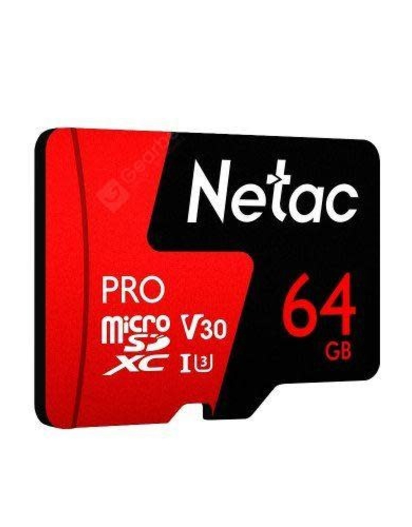 Netac 64GB Micro SD Memory Card, MicroSDHC Card UHS-I, 100/30MB/s(R/W), 667X, C10, U3, A1, V30, 4K, TF Card for Camera, Smartphone, Security System, Drone, Dash Cam, Gopro, Tablet, DSLRs