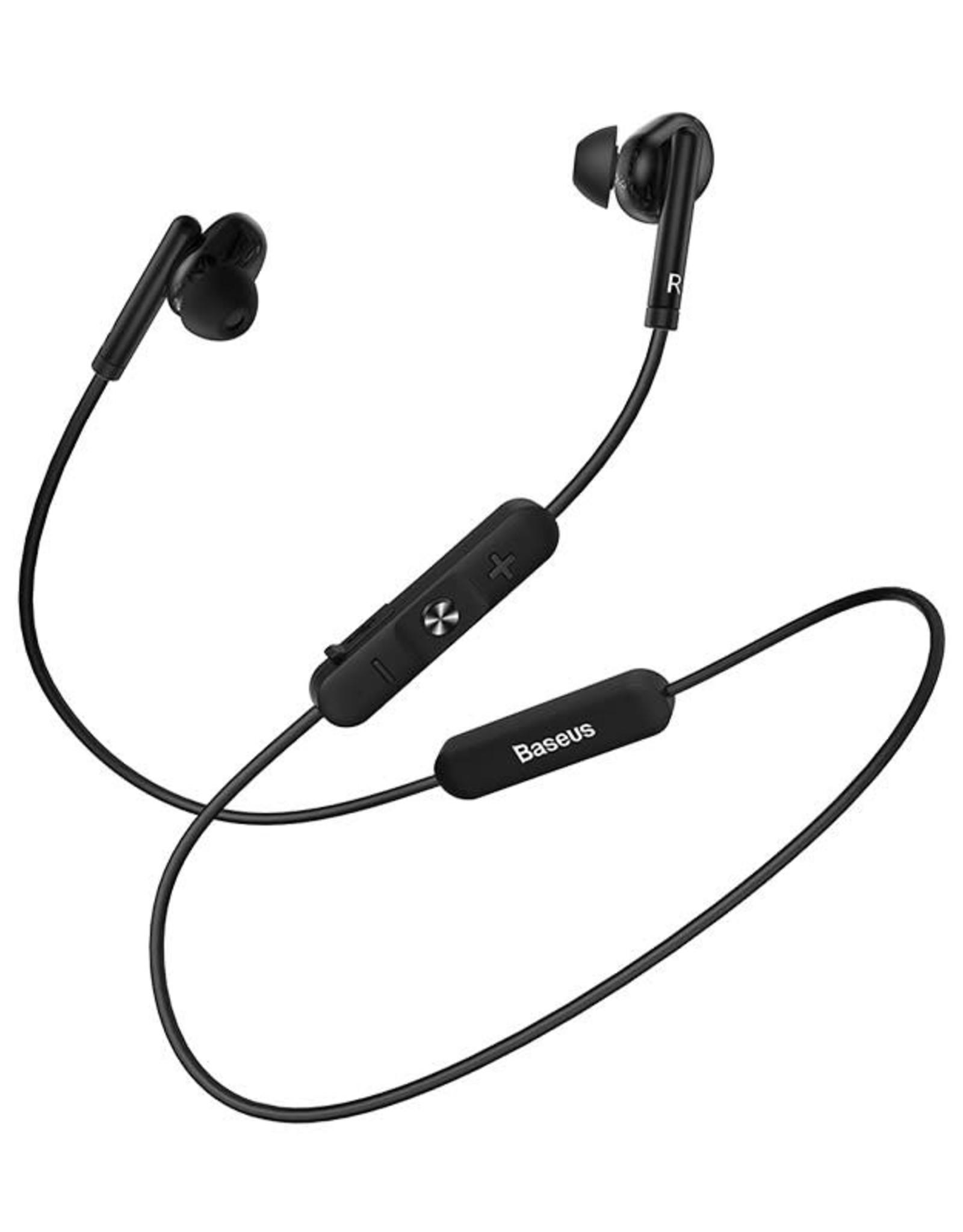 Baseus Encok S30 Bluetooth Sport earphones Black