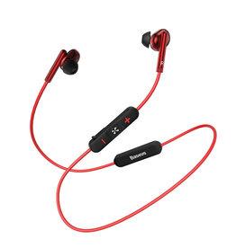 Baseus Encok S30 Bluetooth Sport earphones Red