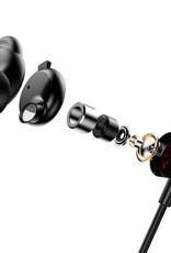 Baseus Encok S12 Necklace Headset Wireless with Mic Black