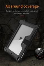 Nillkin iPad 9.7 inch (2018) Bumper Leather Cover Smart Tablet Case NILLKIN
