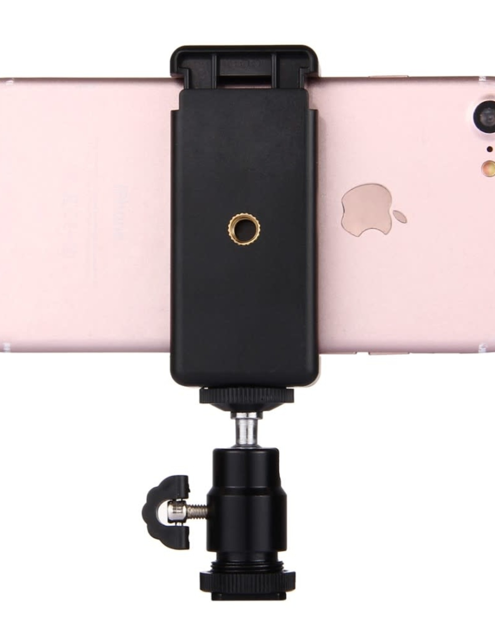 Hot Shoe Tripod Head + Tripod Stand Clamp for Smartphones PULUZ PU214 1/4 inch