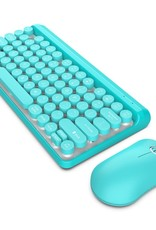 2.4G Wireless Multi-media Mechanical Touch Keyboard Mouse Set