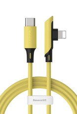 BASEUS PD 18W Elbow Type-C to Lightning Data Cable, 1.2m