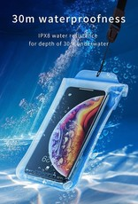Baseus Airbag Waterproof Case - Blue