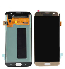 Samsung Samsung Galaxy S7 Edge G935F G935FD G935W8 G9350 LCD Digitizer Screen LCD Display and Touch Screen Only  - Gold