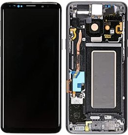 Samsung Samsung Galaxy S9 SM-G960 LCD Display Touch Screen Digitizer + Frame Assembly - Black
