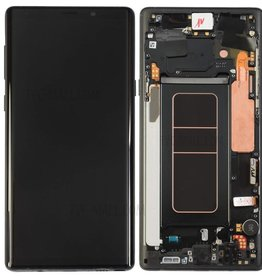 Samsung Samsung Galaxy Note 9 N960 OEM LCD Screen and Digitizer Assembly Part + Frame  - Black