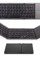 Universal bluetooth keyboard with touchpad mouse