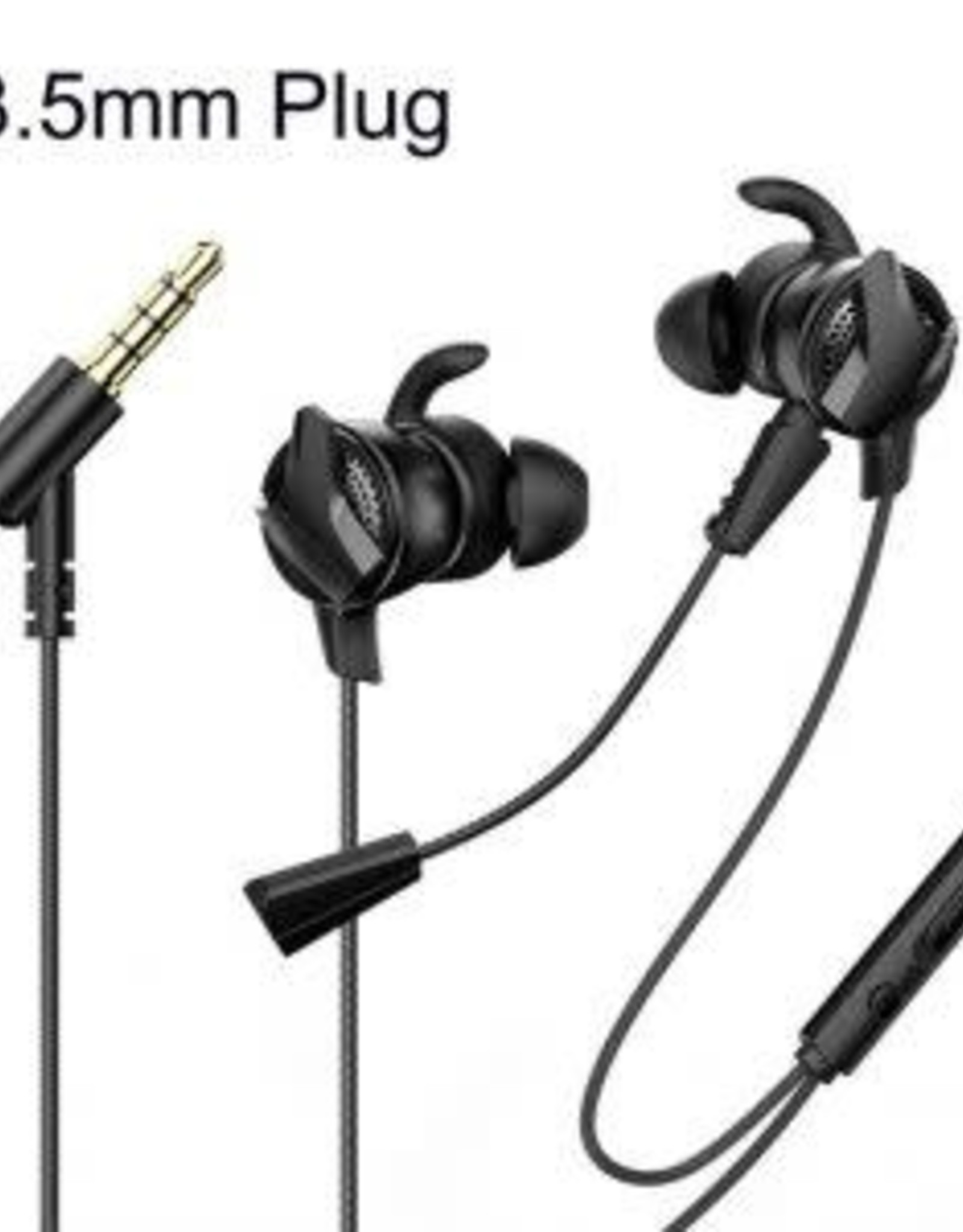 Baseus GAMO Wired Earphone H15 Black