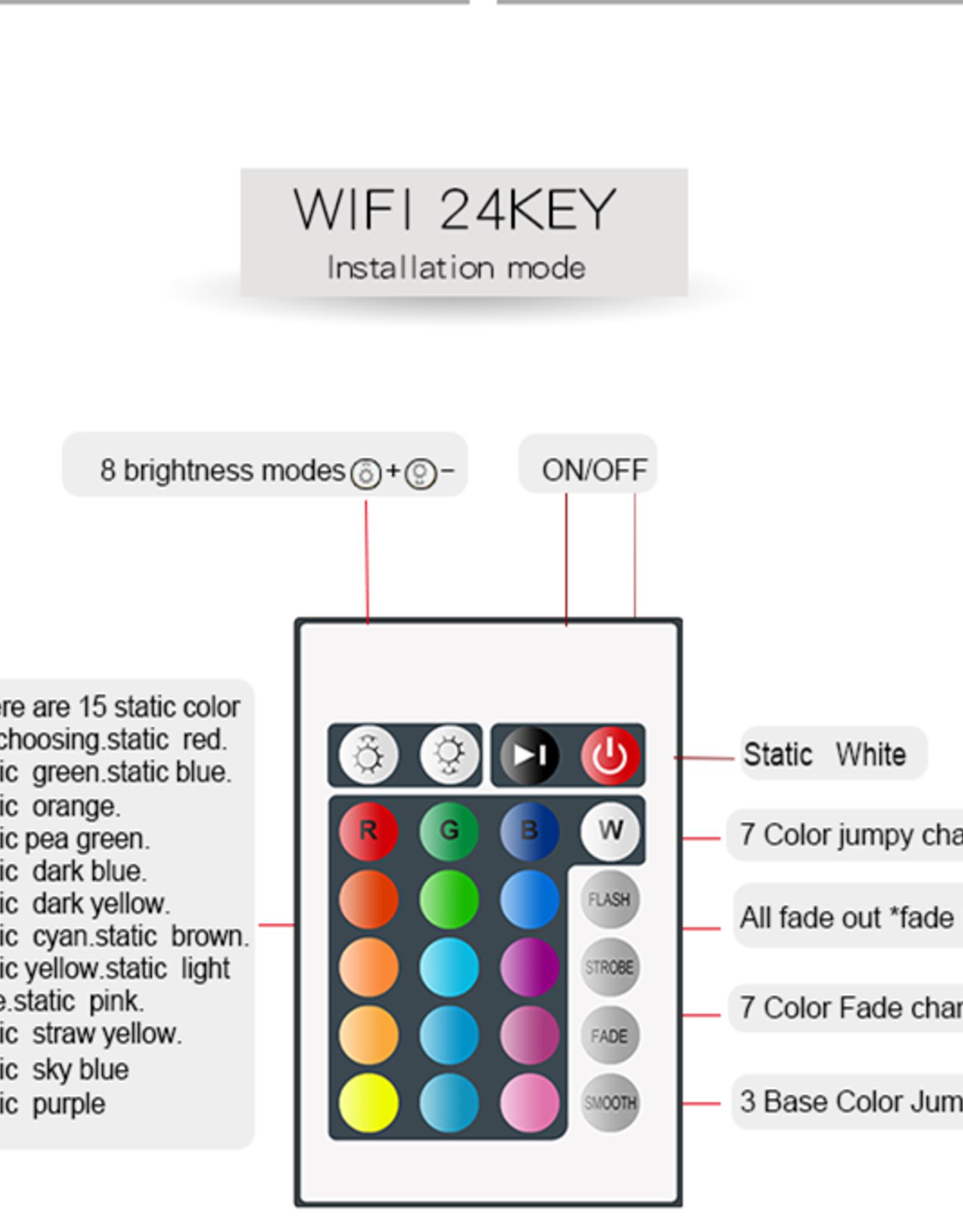 16 Color 10 Meter(30ft) Wifi/App LED LIGHT STRIPS