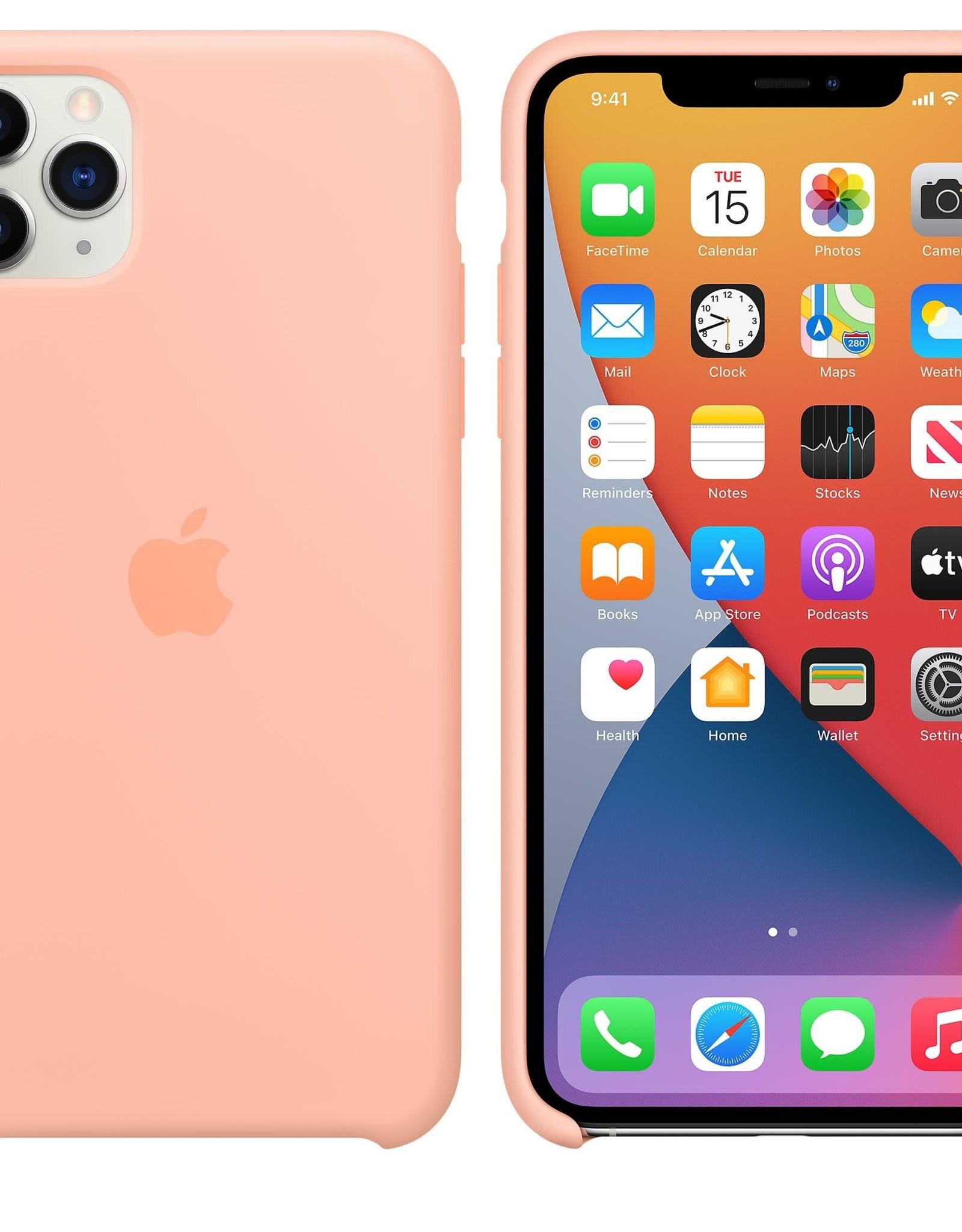 Apple iPhone 11 Pro Max Silicone Case Grapefruit
