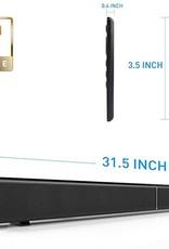 Sound Bar LP-09 Bluetooth Speaker Home Furniture TV Echo Wall Soundbar Wall-Mounted Remote Control U-Disk