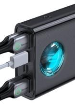 Baseus Amblight Quick Charge &large power digital display power bank 33W  (PD3.0+QC3.0) 30000mAh Black