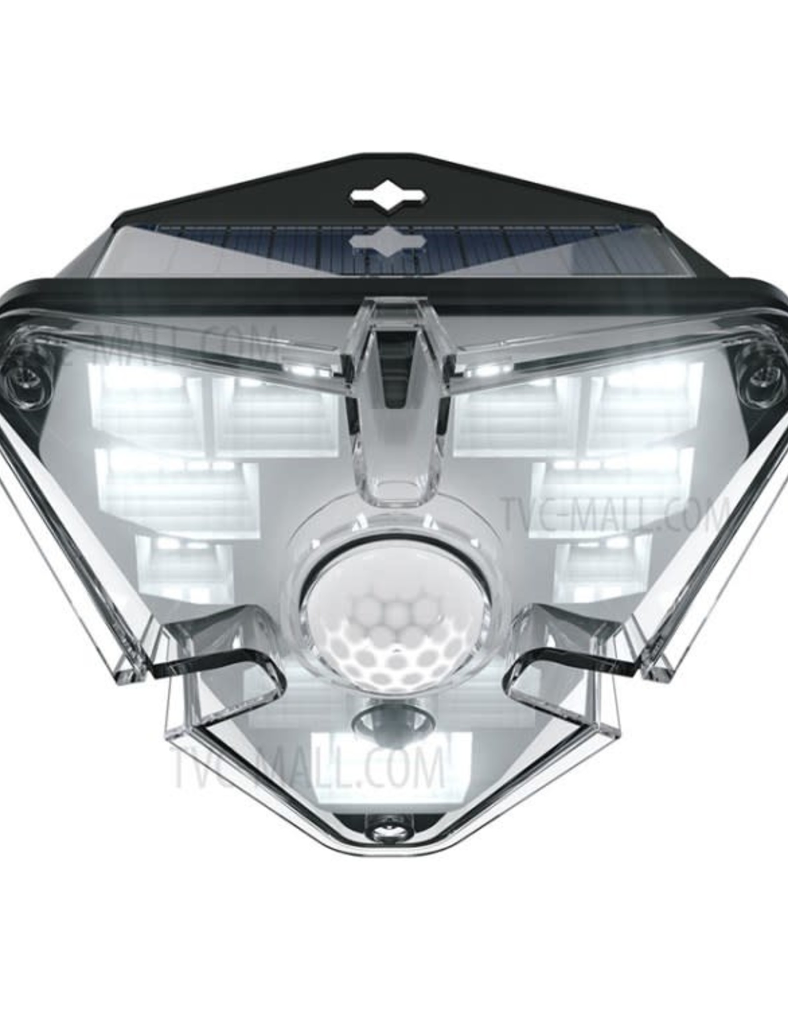 Baseus Energy Collection Series Solar Energy Human Body Induction Wall Lamp (Triangle Shape)