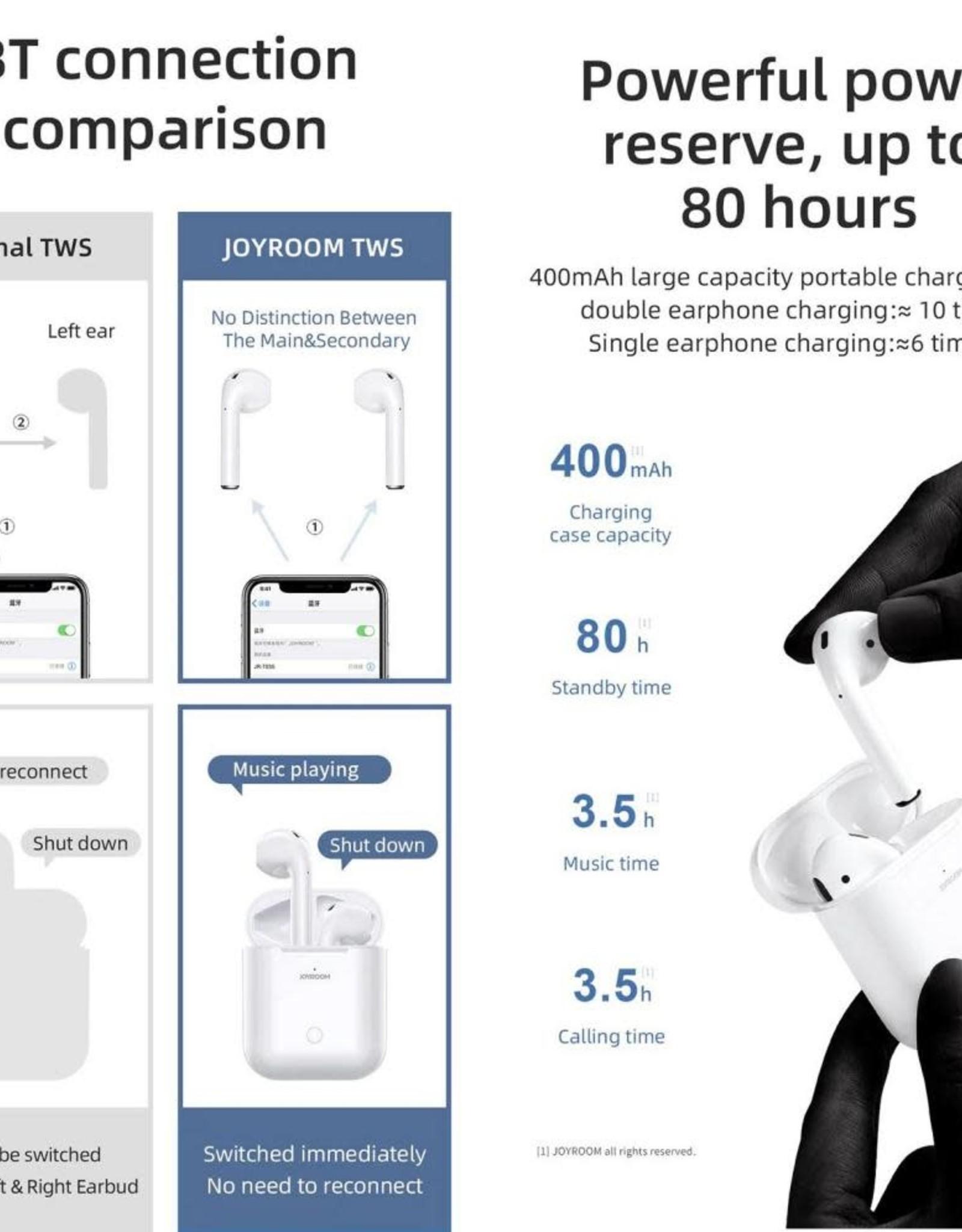Joyroom Joyroom AirPods JR-T03S TWS Bluetooth 5.0 Wireless Earbuds