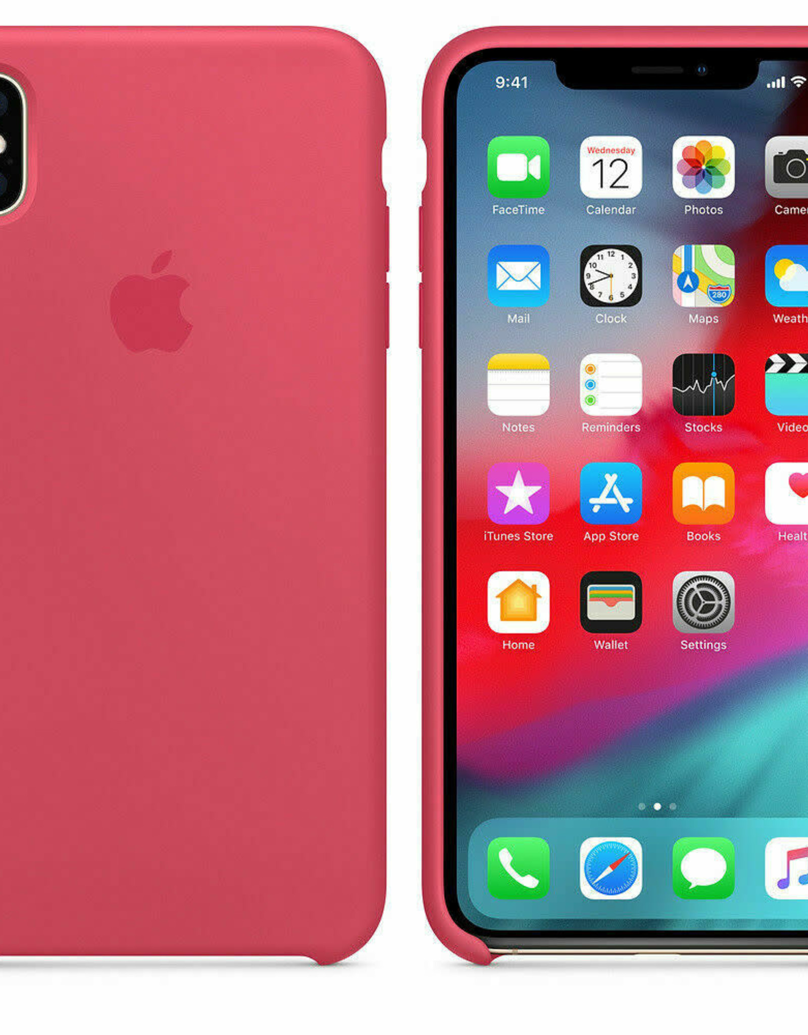 Apple IPhone X/XS  Silicone Hibiscus