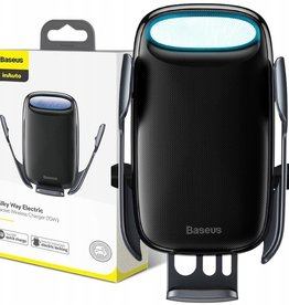 Baseus Baseus Milky Way Electric Bracket Wireless Charger (15W) Black