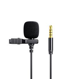 Lavalier Microphone 2m Black - Model JR-LM1