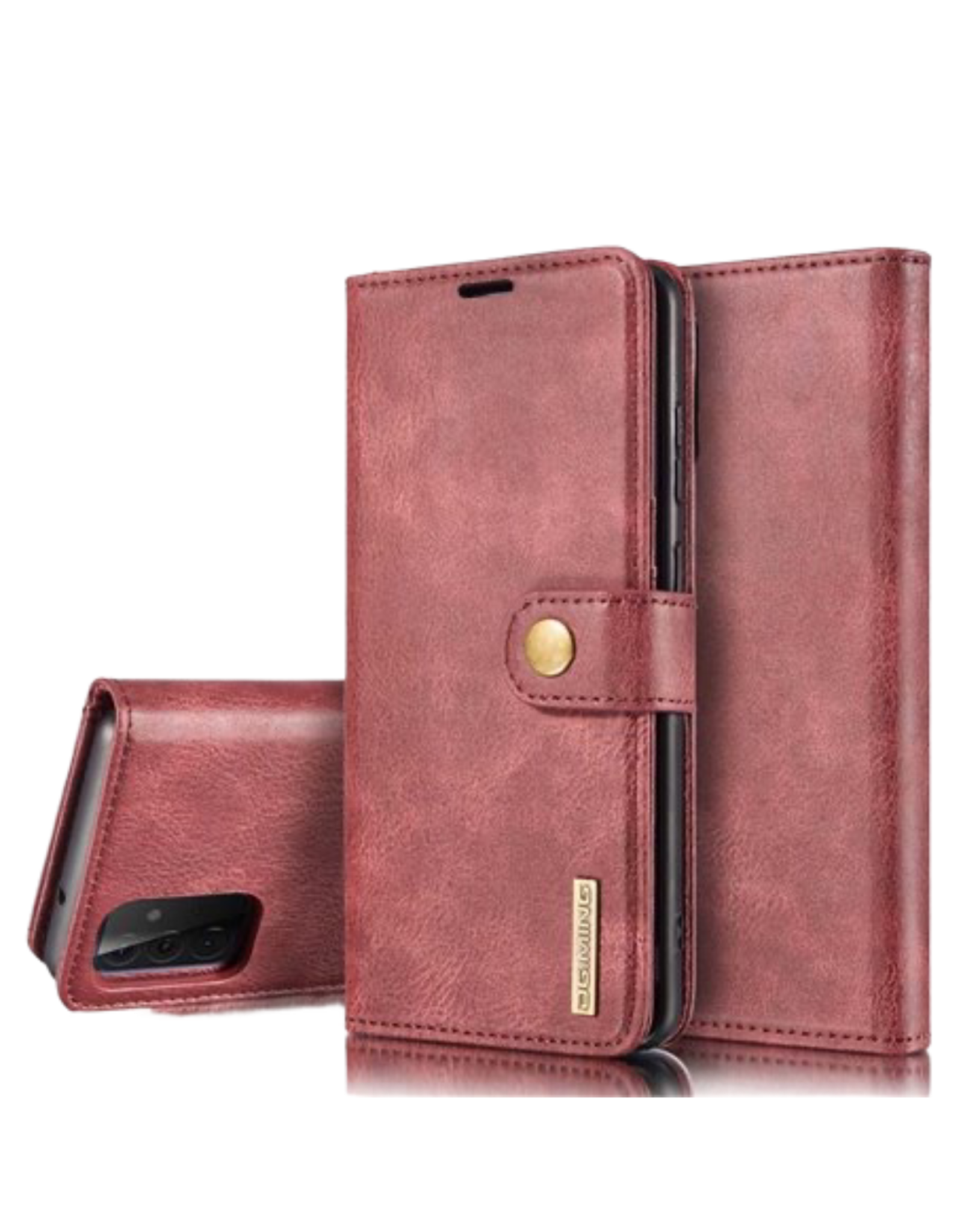 D.G. Ming DG.MING Removable Leather  Wallet Case Samsung Galaxy