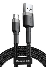 Baseus Cafule Cable USB For Micro 1.5A 3M Gray+Black