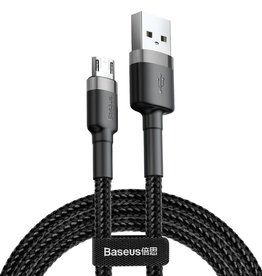 Baseus Cafule Cable USB For Micro 1.5A 2M Gray+Black