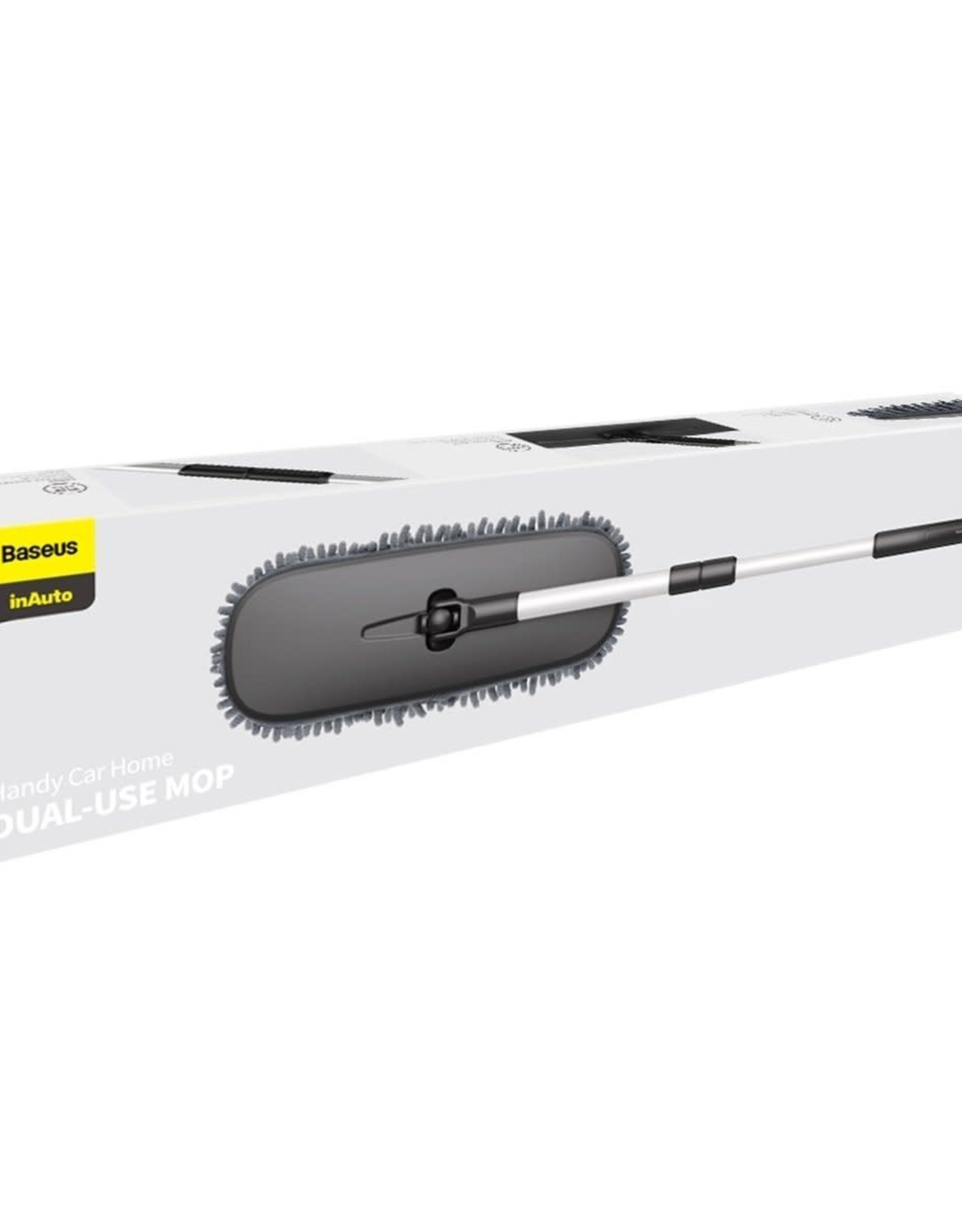 Baseus Baseus Handy Car home Dual-use Mop Black