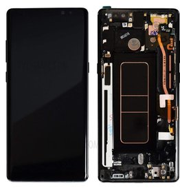 Samsung Samsung Galaxy Note 8 N950 OEM LCD Screen + Frame  and Digitizer Assembly Replacement Part - Blac