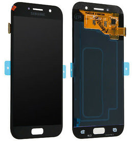 Amazon Samsung Galaxy A5 A520 A520F 2017 LCD Screen Replacement Digitizer Screen LCD Display and Touch Screen Assembly (Black)