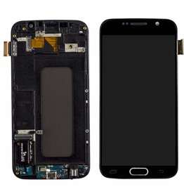 Samsung Samsung Galaxy S6 G920 G920A G920i G920T G920F G9200 LCD Display Touch Screen Digitizer Assembly - Black
