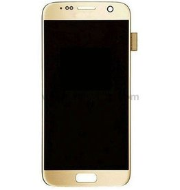 Samsung Samsung Galaxy S7 Edge G935F G935FD G935W8 G9350 LCD Digitizer Screen LCD Display and Touch Screen w/ Frame Full Assembly - Gold
