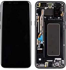 Samsung Samsung Galaxy S9 Plus SM-G965 G965 LCD Display Touch Screen Digitizer + Frame Assembly - Black