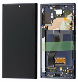 Samsung Galaxy Note 10 Plus Note10+ N975 N975F LCD Display Touch Screen Digitizer w/ Fram Assembly - Black