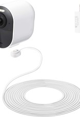 Arlo 25' Outdoor Magnetic Charging Cable for Arlo Ultra and Pro 3 Security Cameras - White